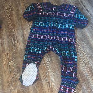 Children's place fleece sleeper 9-12 months